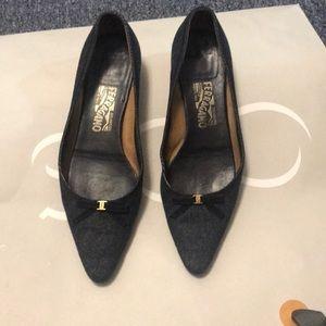 Salvatore Ferragamo Denim shoes
